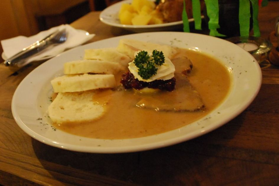 Czech cuisine discover the flavors of czech cuisine svickova na smetane beef sirloin with cream sauce forumfinder Images