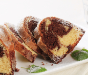 Babovka – Czech Marble Cake